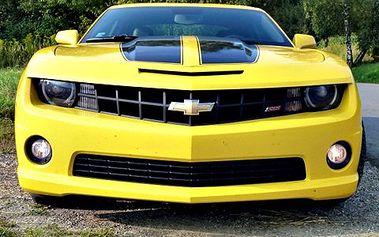 Jízda v Chevroletu Camaro! Užijte si jízdu v autobotu z filmu Transformers! Americká legenda je tu!