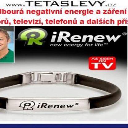 iRenew Energetický náramek Vám dodává energii za 169kč POŠTOVNÉ JE ZDARMA