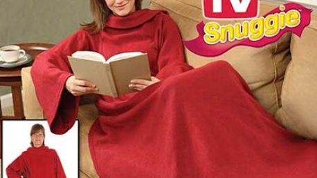 Vysoce praktická elegantní a hřejivá deku s rukávy z TV Shopu. Ideální pro jarní večery na přírodě, s touto dekou budete v teplíčku od hlavy až k patě!
