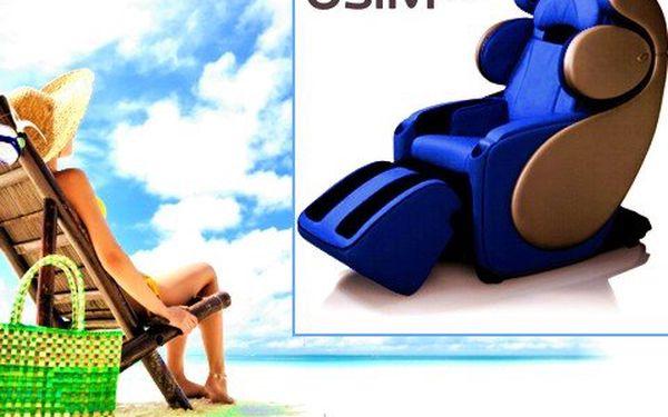 6 masáží na hi-tech křesle! Užijte si 6 masáží na nejmodernějším křesle současnosti a zbavte se stresu a ztuhlých svalů!