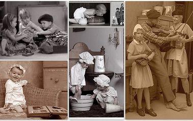 Udělejte radost sobě a svým blízkým a nechte si zhotovit své originální RETROFOTKY za pouhých 345 Kč! Focení v atelieru s profesionální fotografkou! Kolekce cca 30ti různých záběrů, v ceně služby 4 vytištěné fotografie 10x15 cm a také kostým!