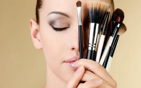 Chcete být krásná za každé situace? Chcete se umět perfektně nalíčit? Zajděte si do ŠKOLY LÍČENÍ! Nabízíme tyto kurzy: 1.Péče o pleť a základy líčení, 2.Denní make-up, 3.Business make-up, 4.Večerní líčení za 1260 Kč!