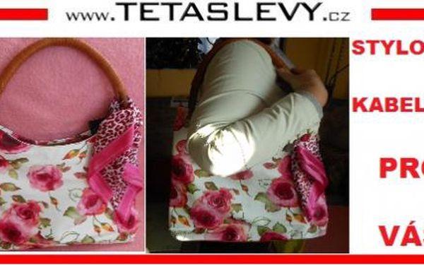 Stylová luxusní kabelka s úžasným moderním motivem za cenu 499kč poštovné je zdarma