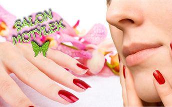 Nechte si doplnit Vaše gelové nehty! Nové lakování v ceně! Krásné ruce jsou vizitkou každé ženy!