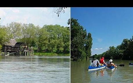 2-denné jarné vodácke dobrodružstvo so štartom v Bratislave na Malom Dunaji so splavovaním do Jelky za €17,99 pre 1 osobu, teraz so zľavou 76 %.