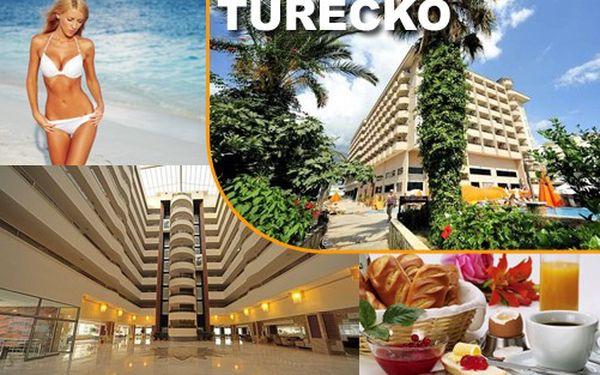 13.110 Kč za 7 dní ALL INCLUSIVE, Turecko, Hotel HAPPY ELEGANT 5*! Hotel přímo u písečno-oblázkové pláže pár kilometrů od centra ALANYE. Jen 20 voucherů!