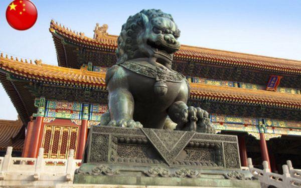 Poznávačka do Pekingu jen za 26 990 Kč na 5 dní s plnou penzí a ubytováním!