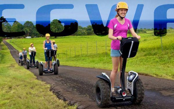 Zapůjčení vozítka segway po dobu 30-ti minut za 250 kč!! Dopravní prostředek budoucnosti, vyvinutý v nasa, zvládne řídit opravdu každý a zábavu si s ním užije celá rodina!!