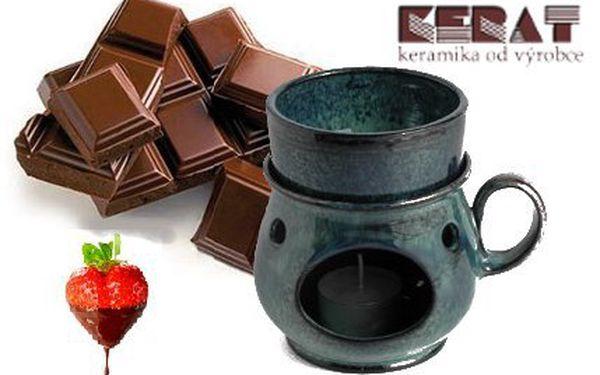 Vychutnej si rozpuštěnou čokoládu s ovocem-fondue!