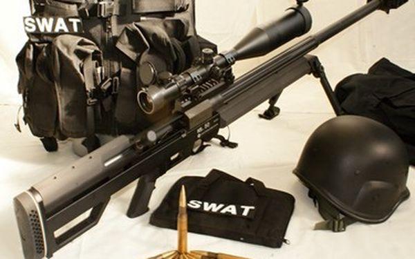 Vždy jsem si přál být elitní Sniper! Ted si to mohu vyzkoušet!