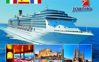 6-dňová plavba na luxusnej lodi Costa Atlantica po najkrajších miestach STREDOMORIA! Navštívite Marseille, Barcelonu, Mallorku, Korziku či Avignon! Plná penzia + 2 deti zdarma a rozprávková dovolenka na lodi so 4 bazénmi, kasínom či divadlom!