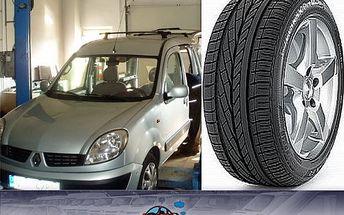 Jen 349 Kč za kompletní přezutí a vyvážení pneumatik jakéhokoli osobního vozu. Motoristická sezóna začíná, tak připravte svého miláčka na jízdu!