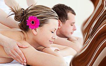 Čokoládová masáž pro dva! Masáž, zábal a sekt! Provoní vaši pokožku, protáhne ztuhlé svaly a zbaví stresu!