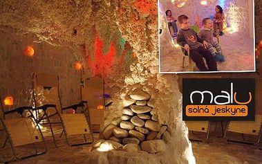 45 minut v solné jeskyni! Vstupte do ozdravné solné jeskyně a dýchejte blahodárný solemi nasycený vzduch!