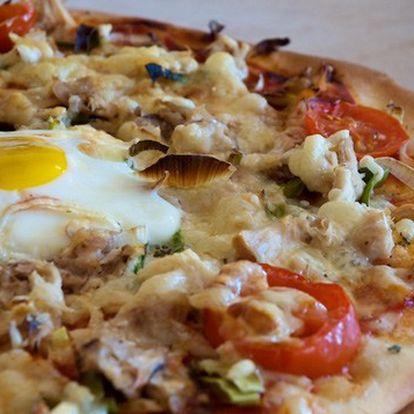 Pouze 49Kč za pizzu v centru Prahy (velikost Ø 34 cm). Na výběr dvanáct druhů pizz, které se připravují výhradně z italských surovin.
