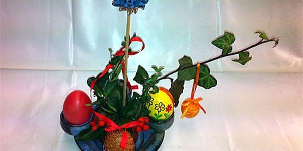Připravte se na Velikonoce! Skvělý keramický svícen vhodný pro aranžování!