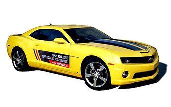 Celodenní pronájem Chevroletu Camaro! Užijte si jízdu v autobotu z filmu Transformers! Americká legenda je tu!