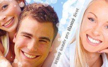 CENOVÁ BOMBA!!! SLEVA 88% za zářící úsměv a bělostné zuby během chvilky. Už je konec se schovávání zubů při úsměvu