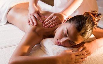 Vyberte si masáž z pěti druhů! Čokoládová, medová, relaxační, sportovní nebo masáž lávovými kameny!