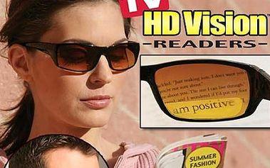 Novinka!!! HD VISION - brýle nejen pro řidiče s bezkonkurenční slevou. Zvyšují kvalitu a jasnost barev jako NIKDY předtím. 100% ochrana proti UV záření!