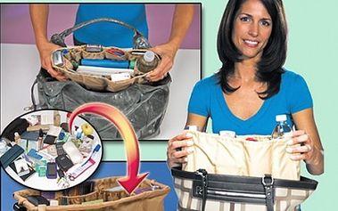 Praktický organizér KANGAROO KEEPER do kabelky za pouhých 129,- Kč!!! Ušetří Vám spoustu času a také zajistí perfektní přehled nad Vašimi věcmi v kabelce!