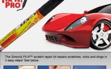Profesionální opravný pero FIX IT PRO. Škrábance na laku auta, už nemusíte řešit drahým přelakováním