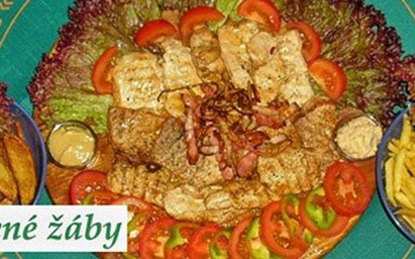 Jen 199 Kč místo 560 Kč za pořádnou porci 3 druhů šťavnatých grilovaných steaků (kuřecích, krůtích a vepřových). K tomu DVĚ velké přílohy a zeleninová obloha. To nejlepší z grilu se skvělou slevou 64%!