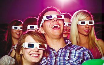 5D Cinema MAXIM - vstup pro 2 osoby na dva libovolné 5D filmy V 5D cinema kolem Vás proudí vítr, prší, padá sníh a sedadla se s Vámi pohybují. Vyberte si 2 filmy podle Vašich přání a užijte si netradiční zážitek s kamarády či rodinou.