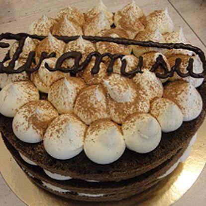 29 Kč za slevu 40% na italský dort Tiramisu o váze 1,2 kg a průměru 24 cm! Nejoblíbenější a nejznámější dort dle originální receptury a surovin Vás vyjde na pouhých 299 Kč místo 499 Kč!