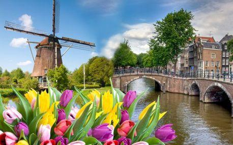 4-dňový LETECKÝ zájazd do AMSTERDAMU pre 1 osobu spojený s návštevou výstav kvetov Keukenhof a Floriada! Spoznajte mesto slobody, prekrásnych kanálov, plné histórie so zľavou 35% s CK Sunset Team! Odlet z Viedne!