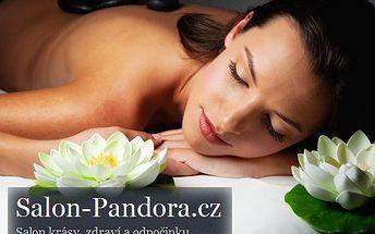 Hodinová masáž lávovými kameny přináší uvolnění a zbaví vás stresu!