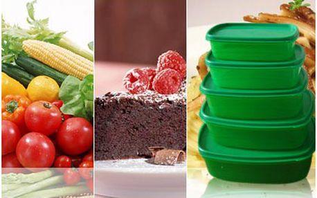 Sada dóz King Fresh. Udržte své potraviny déle čerstvé s pětidílnou sadou hermeticky uzavíratelných nádob!