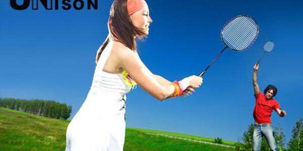 Pouze 165 Kč za kvalitní soupravu včetně stylového pouzdra nejen pro rekreační hráče badmintonu. Protáhněte svá těla venku na sluníčku.
