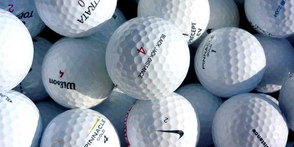 375 Kč za PADESÁT golfových míčků kvality A+/A . Mix míčků značek Srixon, Soft-Feel, Pinnacle atd. Hrané golfové míčky až s 53% slevou!