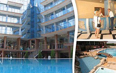 Bulharsko ALL INCLUSIVE ve dvou termínech, dovolená na 9 dní Dovolená na 9 dní, 7 nocí. Exkluzivní hotel s bazénem a lehátky, jacuzzi, Wi-fi a stravou all inclusive v ceně. Doprava je tam autobusem a zpět letecky do Brna či Ostravy.
