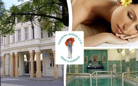 3denní dámská relaxace v Hotelu Zimní lázně*** v Lázních Poděbrady Ubytování s polopenzí pro 1osobu, ibišková koupel, jalovcová masáž s rakytníkem, jogurtový zábal obličeje a dekoltu, zpevňující zábal a vstup do solné jeskyně.