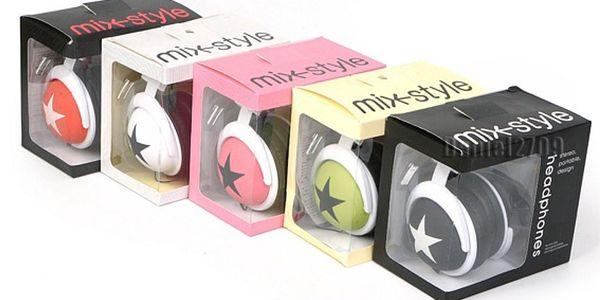 Víkendově omezená výprodej! Pouze sobota a neděle! Kvalitní barevná sluchátka MIX STYLE za 183 Kč a další na Slevoviny.cz