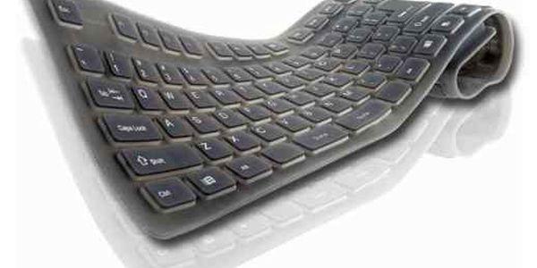 Nejnižší cena v historii! Hi-tech novinka pro všechny! Ohebná klávesnice k počítači za směšnou cenu 239 Kč!