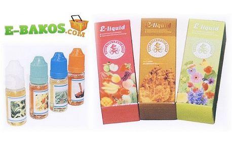 Náplně do e - cigarety 3 x 30 ml. jen za . . . 385,- Kč
