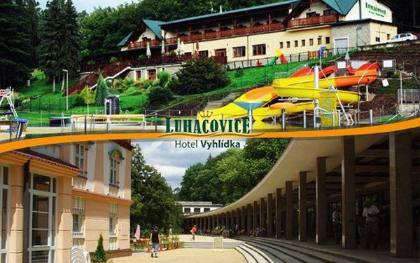 Již od 1995 Kč za pobyt pro dva ve 4**** Hotelu VYHLÍDKA v nejznámějších moravských lázních LUHAČOVICE! 3/4/6 dnů s polopenzí, 1 dítě do 3 let ZDARMA! Platnost do konce ŘÍJNA!