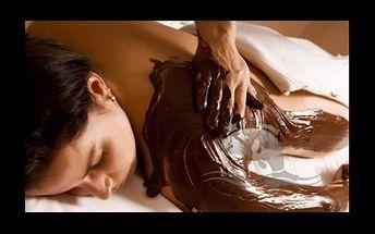 265,- Kč za voňavý a sladký relax v podobě čokoládové masáže v centru Prahy