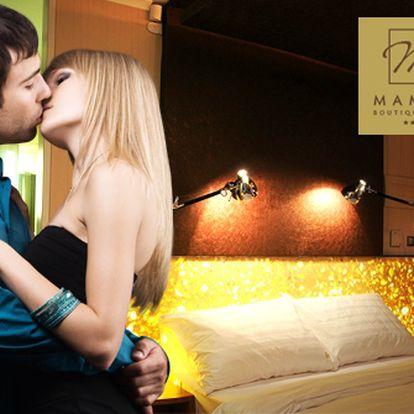 Třídenní pobyt pro dva v luxusním designovém hotelu Mama's v centru Bratislavy za 2961 Kč s využitím wellness centra.
