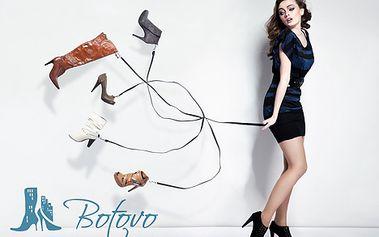 Pouze 399 Kč za kupon v hodnotě 800 Kč. Nádherné kvalitní boty s 50% slevou. Baleríny, sportovní obuv, holínky nebo kozačky z Hollywoodu. Výběr je jen na Vás, jelikož blázni do bot mají i dnes svátek.