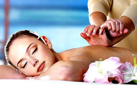 60minutová švédská masáž zad a šíje. Relaxační masáž pro uvolnění páteře a ztuhlých svalů. Využijte max. 5 procedur