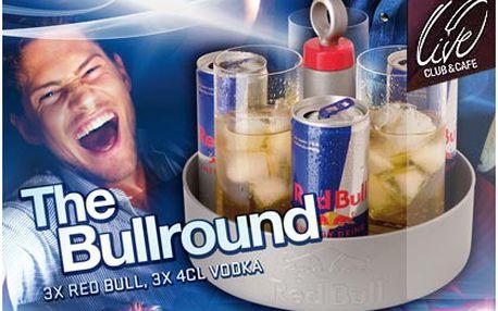 Přijďte si dát Bullround! 3x Amundsen vodka (0,04l) + 3 x Red Bull v LIVE CLUB