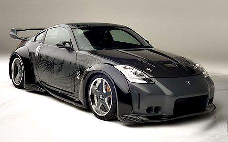 1 hodina s Nissanem 350Z! Užijte si jízdu ve vozu z filmu Rychle a Zběsile: Tokio Drift. Trasa je na vás!