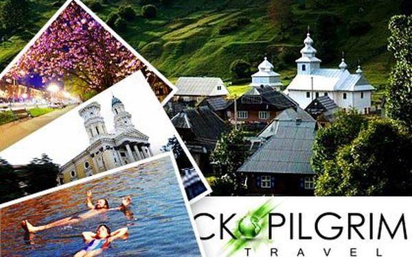 5denní poznávačka Ukrajiny – doprava, ubytování s polopenzí a vstupy pro 1 osobu, 4 noci v Hotelu Zakarpatya*** v Užhorodu. Solná jezera, národní parky, Koločava a vinařství