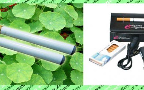 Mimořádná nabídka pro kuřáky!POŠTA ZDARMA! ELEKTRONICKÁ E-CIGARETA + 20 náplní ! Pouze za 228 Kč vč. POŠTY!Barva dle výběru:černá nebo bílá.