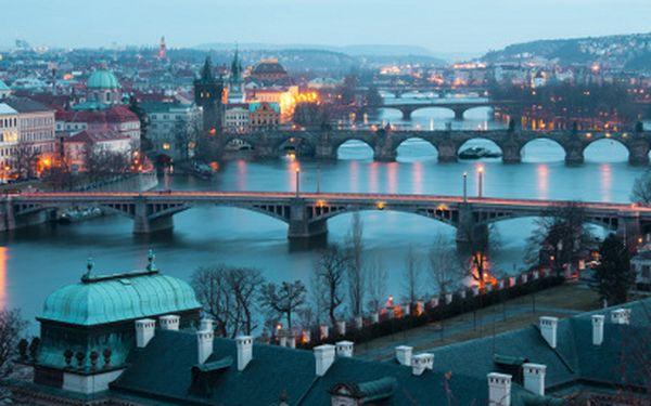 3 dni v Prahe pre DVOCH len za 99 €! Štvorhviezdičkový hotel Elegant s wellness!