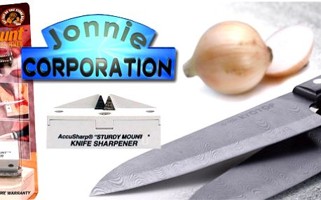 Stolní brousek na nože s doživotní zárukou! Nejrychlejší a nejúčinnější ostřič - brousek na světě!! Také jediný, který kdy budete potřebovat. Poštovné v ceně!